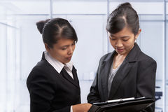 Asian businesswoman Stock Photography
