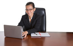Asian Businesswoman With Glasses I Royalty Free Stock Image