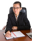 Asian Businesswoman With Glasses IV Stock Image
