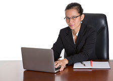 Asian Businesswoman With Glasses V Stock Photography
