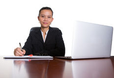 Asian Businesswoman At Her Office IV Royalty Free Stock Photo