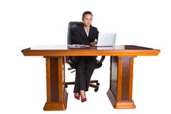 Asian Businesswoman At Her Office IX Royalty Free Stock Images