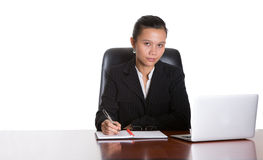 Asian Businesswoman At Her Office VI Stock Photo