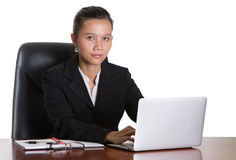 Asian Businesswoman At Her Office VII Royalty Free Stock Images