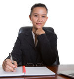 Asian Businesswoman At Her Office VIII Royalty Free Stock Photo