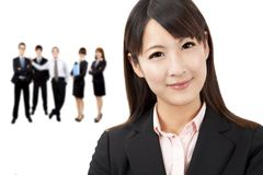 Asian businesswoman isolated Royalty Free Stock Photos