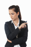 Asian businesswoman looking Stock Photos