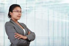 Asian businesswoman looking away Stock Image