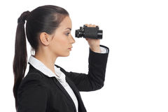 Asian Businesswoman with ocular Royalty Free Stock Photos