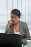 Asian businesswoman in office Stock Photos