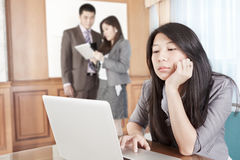 Asian businesswoman in the office Royalty Free Stock Photo