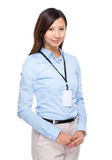 Asian businesswoman portarit Royalty Free Stock Photography
