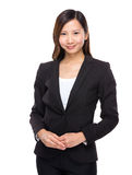 Asian businesswoman portrait Stock Photography