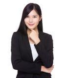 Asian businesswoman portrait Stock Photo