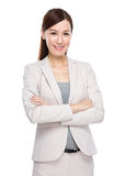 Asian Businesswoman portrait Royalty Free Stock Photography