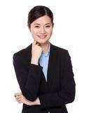 Asian Businesswoman portrait Royalty Free Stock Photos