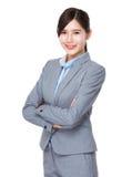 Asian businesswoman portrait Royalty Free Stock Image