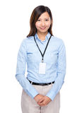 Asian businesswoman portrait Royalty Free Stock Images