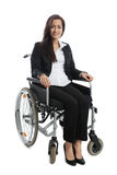 Asian Businesswoman sitting Royalty Free Stock Photography