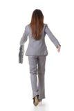 Asian businesswoman walking Royalty Free Stock Photo