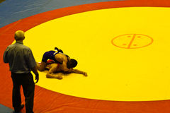 Asian cadet wrestling championship 2011, 4-7 - BANGKOK, THAILAND, 4-7 August 2011 Stock Image