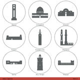 Asian Capitals (Part 5) Stock Images