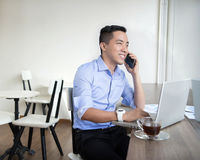 Asian casual business man Royalty Free Stock Photo