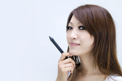 Asian casual women Royalty Free Stock Photography