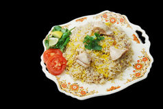 Asian chicken rice Royalty Free Stock Images