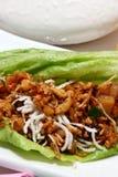Asian Chicken Wrap Royalty Free Stock Photos