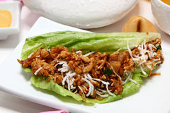 Asian Chicken Wrap Stock Photo
