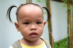 Asian child 2 Royalty Free Stock Images