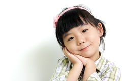 Asian child Stock Image
