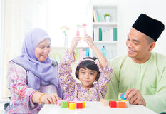 Asian child achievement Royalty Free Stock Image