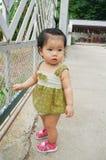 Asian child Enjoying Walk Stock Image