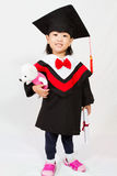 Asian Child Graduation Royalty Free Stock Photo