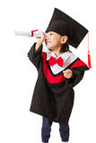 Asian Child Graduation Stock Images