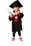 Asian Child Graduation Royalty Free Stock Photo