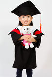 Asian Child Graduation Stock Photography