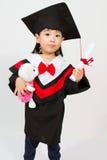 Asian Child Graduation Stock Photo