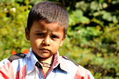 Indian child. A look indian child from rural India Stock Image