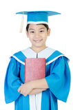 Asian Child with red book Stock Photography