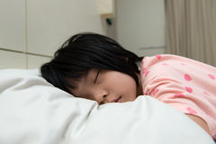 Asian child sleeping Stock Photography