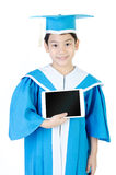 Asian Child with tablet computer Stock Photography