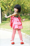 Asian children dancing Stock Images