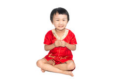 Asian children is happy New Year Stock Photos