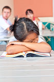 Asian children sleeping Royalty Free Stock Images