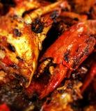 Asian chili crab Stock Photos