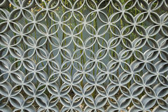 Asian China, antique architectural style, tracery wall Royalty Free Stock Image