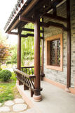 Asian China, antique buildings, courtyards, corrid Stock Images